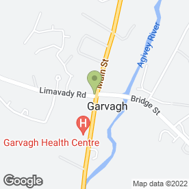 Map of DIAMOND BRIDAL in Garvagh, Coleraine, county londonderry