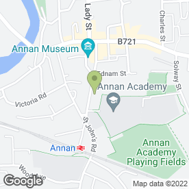 Map of Garden Wise Florists in Annan, dumfriesshire