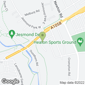 Map of David Hutchinson Garden Services in Heaton, Newcastle-Upon-Tyne, tyne and wear