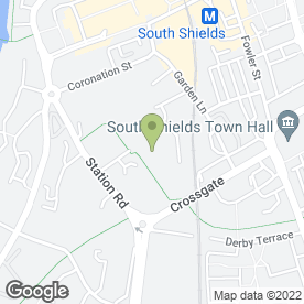 Map of Tyne Tees Security Ltd in South Shields, tyne and wear
