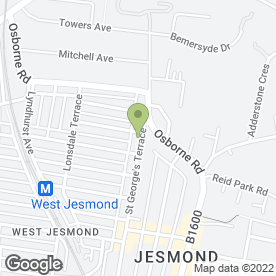 Map of Intoto Kitchens in Jesmond, Newcastle Upon Tyne, tyne and wear