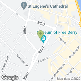 Map of Estate Services NI Ltd in Londonderry, county londonderry