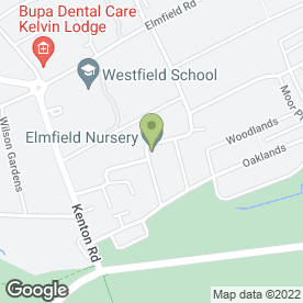 Map of The Elmfield Nursery in Newcastle Upon Tyne, tyne and wear