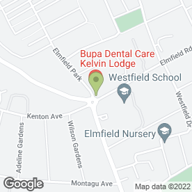 Map of Kelvin Lodge Dental Practice in Newcastle Upon Tyne, tyne and wear
