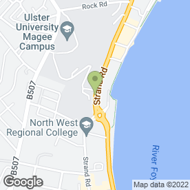 Map of Insight Hypnotherapy in Londonderry, county londonderry