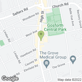 Map of FLOWER CRAFT in Gosforth, Newcastle Upon Tyne, tyne and wear