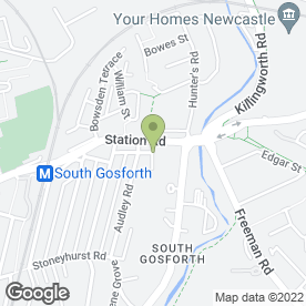 Map of Vacattack in Gosforth, Newcastle Upon Tyne, tyne and wear