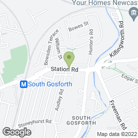 Map of Fawdon Family Dental Practice in Newcastle Upon Tyne, tyne and wear