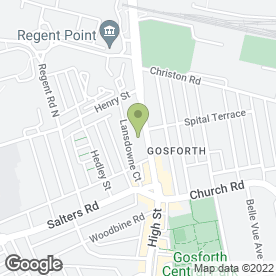 Map of W.S Harrison & Son in Gosforth, Newcastle Upon Tyne, tyne and wear