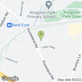 Map of Kingston Park Dental Practice in Newcastle Upon Tyne, tyne and wear