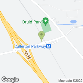Map of Callerton Parking in Woolsington, Newcastle, tyne and wear