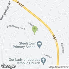 Map of Northwest Roofing & Maintenance in Londonderry, county londonderry