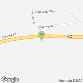 Map of Kidz Montessory Day Nursery in Eglinton, Londonderry, county londonderry