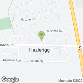 Map of In the Pink in Hazlerigg, Newcastle Upon Tyne, tyne and wear