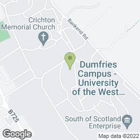 Map of Avis Rent A Car in Dumfries, dumfriesshire