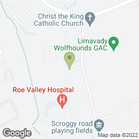 Map of No. 9 Crafts & Gifts in Limavady, county londonderry