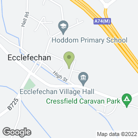 Map of A C Roofing Contractors in Ecclefechan, Lockerbie, dumfriesshire