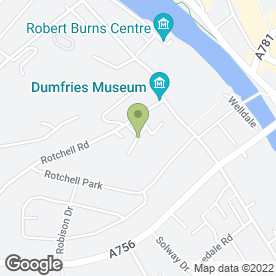 Map of Arnie Driving School in Dumfries, dumfriesshire