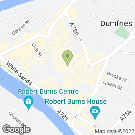 Map of A Thomson & Son in Dumfries, dumfriesshire