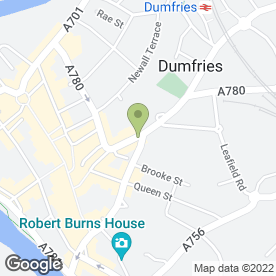 Map of Hairworks in Dumfries, dumfriesshire