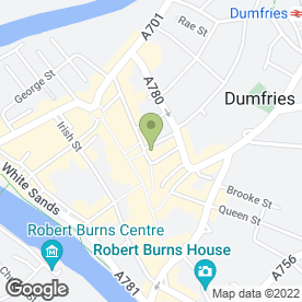 Map of Farmfoods Freezer Centres in Dumfries, dumfriesshire