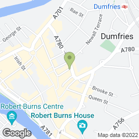 Map of Beauty Beyond in Dumfries, dumfriesshire