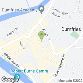 Map of 2's Company in Dumfries, dumfriesshire