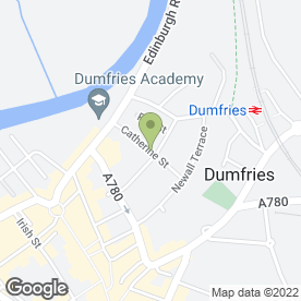 Map of Direct Sports And Martial Arts in Dumfries, dumfriesshire