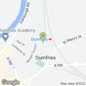 Map of Ferintosh Guest House in Dumfries, dumfriesshire