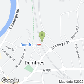 Map of Sixt Rent a Car in Dumfries, dumfriesshire