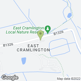 Map of Hawthorn Boarding Cattery in Cramlington, northumberland