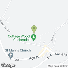 Map of Glens Farm Supplies in Cushendall, Ballymena, county antrim
