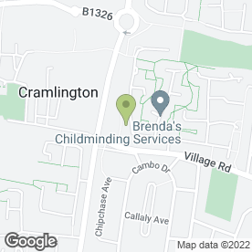 Map of Plasma & Satellite Ltd in Cramlington, northumberland