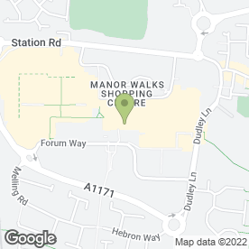 Map of 3 Store in Cramlington, northumberland