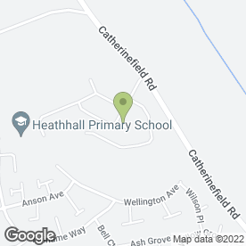 Map of John Anderson Joinery in Heathall, Dumfries, dumfriesshire
