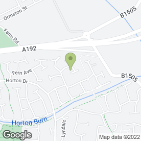 Map of Cramlington Flooring in Cramlington, northumberland