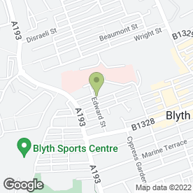Map of Bondcare Ltd in Blyth, northumberland