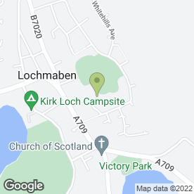 Map of Lochmaben Primary School in Lochmaben, Lockerbie, dumfriesshire