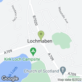 Map of Kennedy's in Lochmaben, Lockerbie, dumfriesshire
