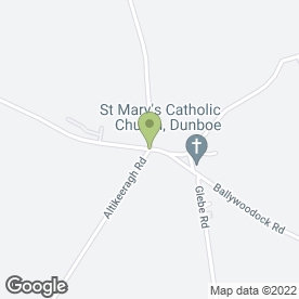 Map of Pretty Crafty Design Studio in Castlerock, Coleraine, county londonderry