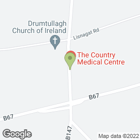 Map of The Country Medical Centre in Armoy, Ballymoney, county antrim