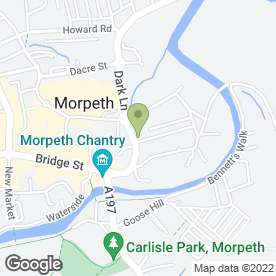 Map of Bowmans TV in Morpeth, northumberland