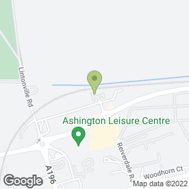 Map of Peugeot - Richard Hardie - Ashington in Ashington, northumberland