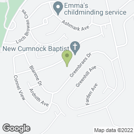 Map of Cairnhill Primary School in New Cumnock, Cumnock, ayrshire