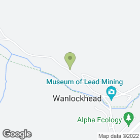Map of W D Whitaker in Wanlockhead, Biggar, lanarkshire