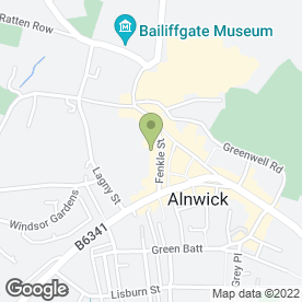 Map of Total Flooring in Alnwick, northumberland