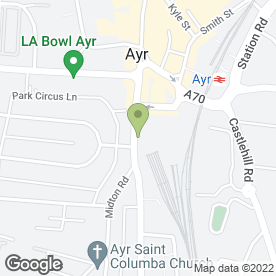 Map of Raymond's Hair Design in Ayr, ayrshire