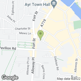 Map of Andersson Dental Care Ltd in Ayr, ayrshire