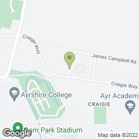 Map of Ascot Flooring in Ayr, ayrshire