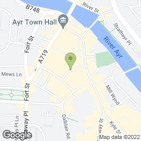 Map of Ayr Dental Studio in Ayr, ayrshire